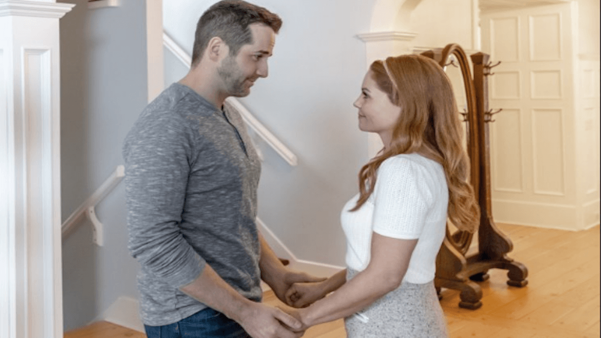 Candace Cameron Bure and Niall Matter must solve a mystery before they can tie the knot in the latest installment of the Hallmark Movies and Mysteries film, Aurora Teagarden Mysteries: Til Death Do Us Part.