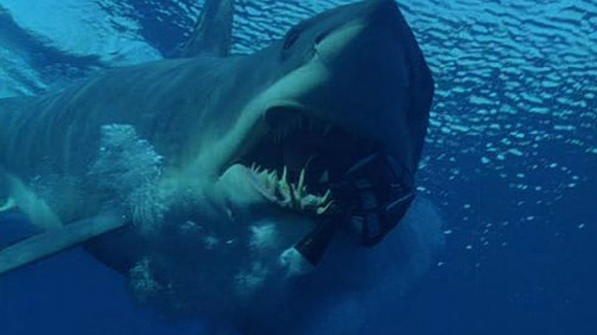 A shark from Deep Blue Sea