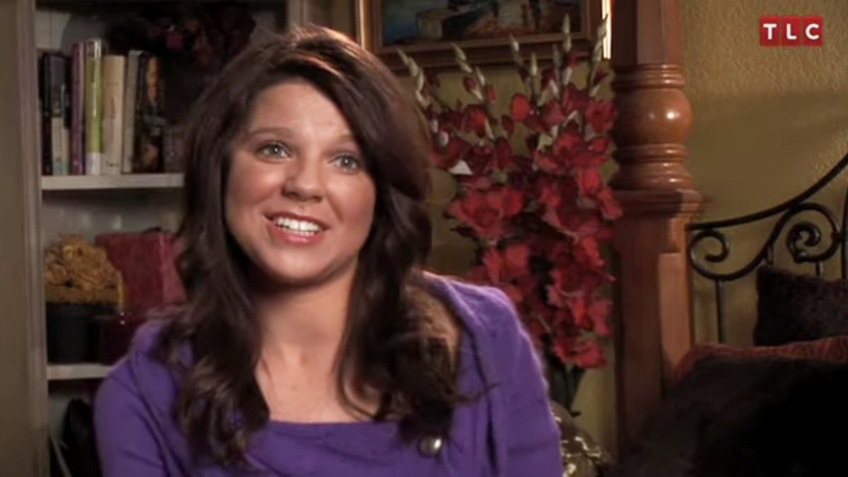 Amy Duggar King in a 19 Kids and Counting confessional.