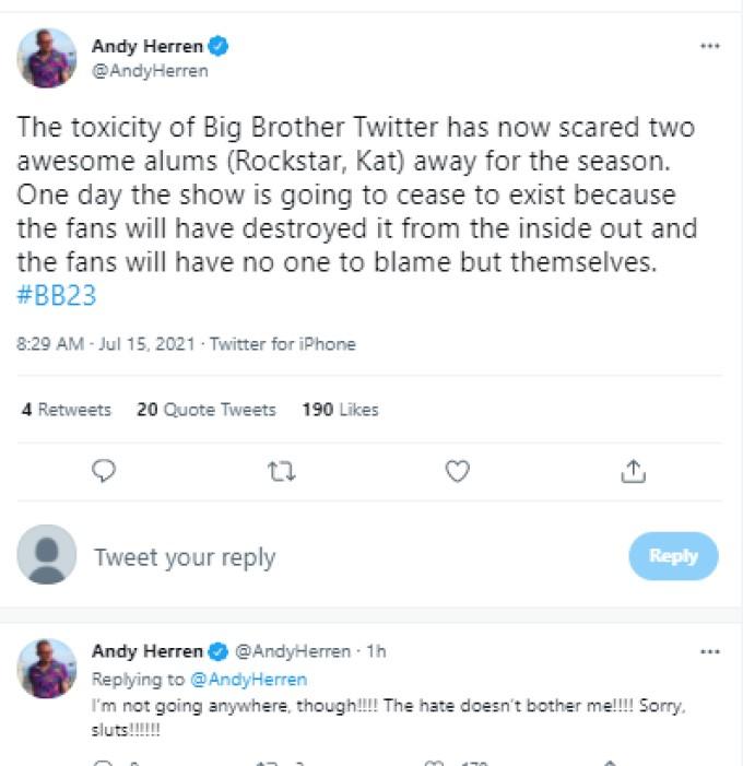 Andy Herren Twitter