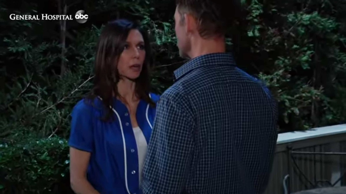 Anna and Valentin on General Hospital.