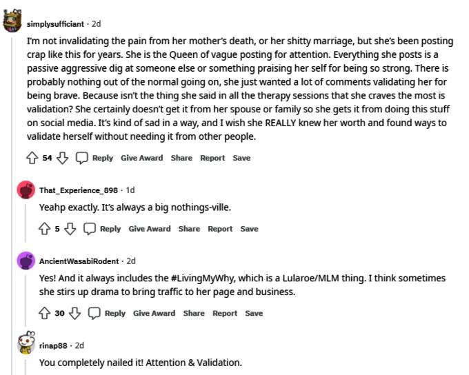 Meri Brown of Sister Wives on Reddit