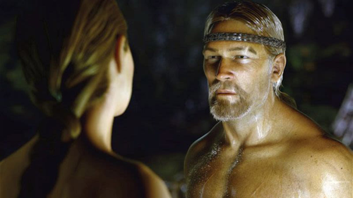 Beowulf in the mo-cap movie from 2007