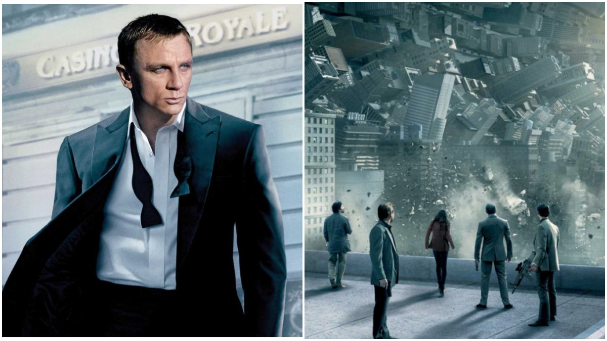 Casino Royale and Inception are thriller movies on Netflix