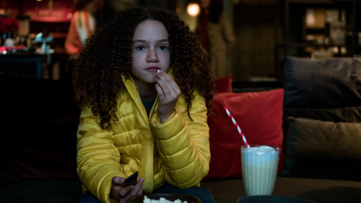 Chloe Coleman as Emily from Gunpowder Milkshake.