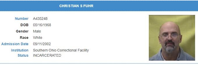 Christian Fuhr prison details