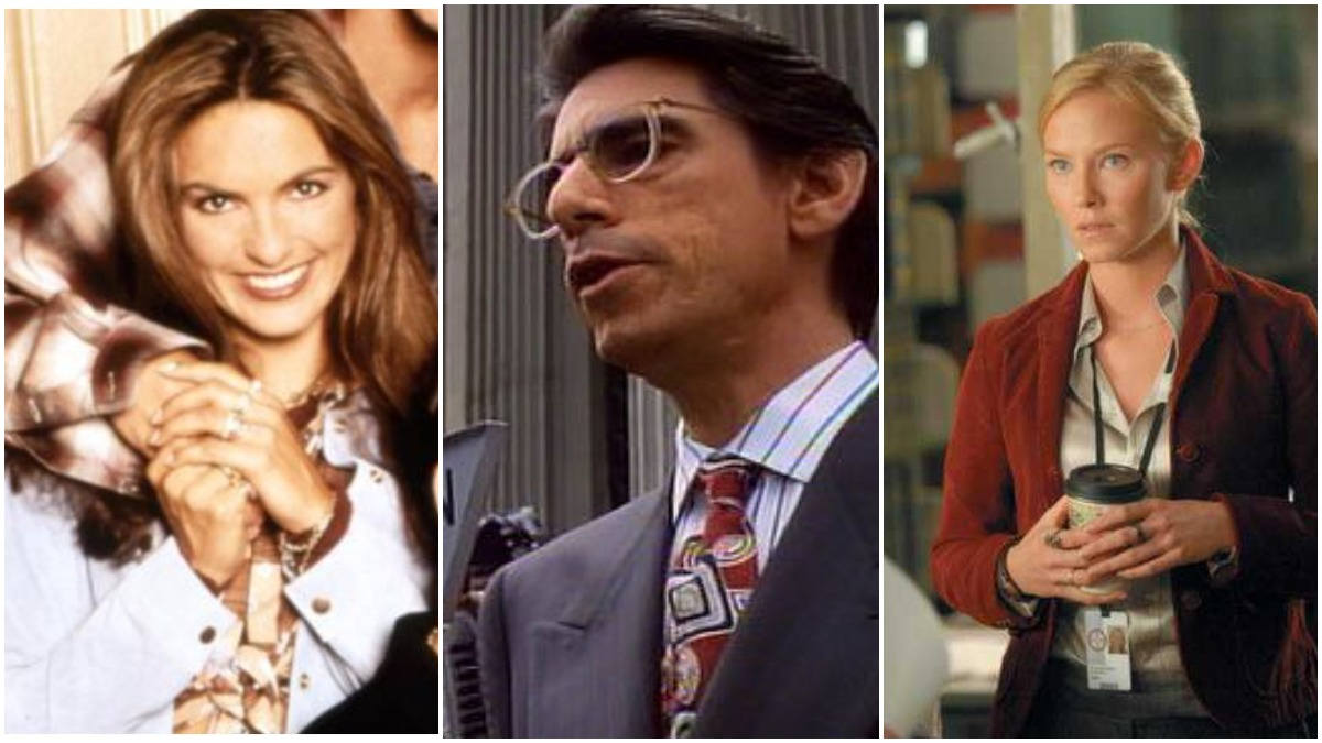 Law and Order Past roles