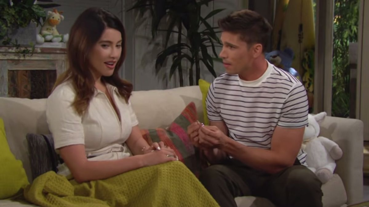 The Bold and the Beautiful spoilers reveal Steffy marries Finn.