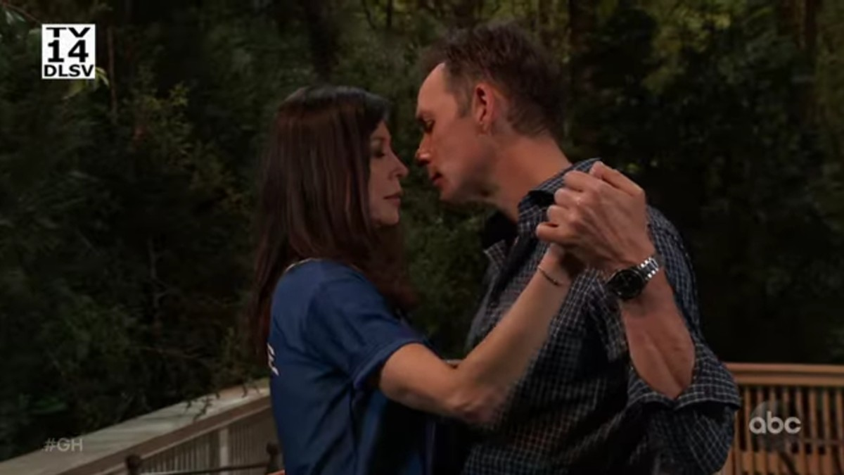 Valentin and Anna on General Hospital.