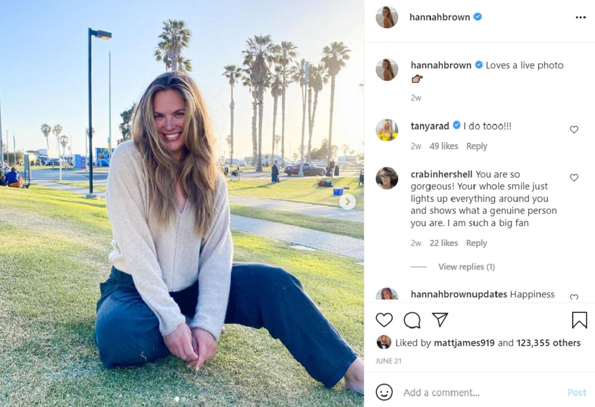 Hannah Brown Instagram