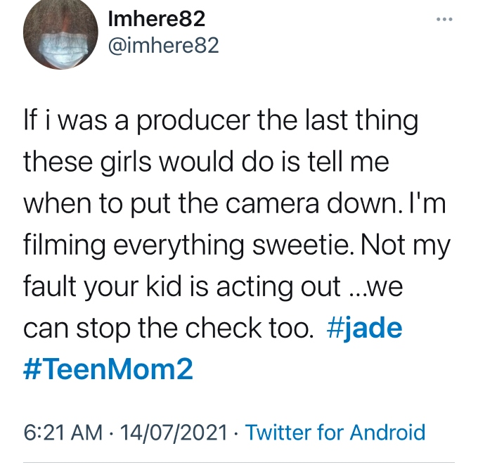 Teen Mom 2 fans bash Jade Cline