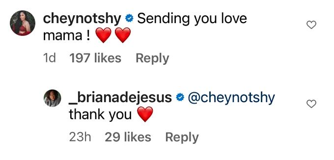 Teen Mom 2 star Briana DeJesus gets support from Cheyenne Floyd