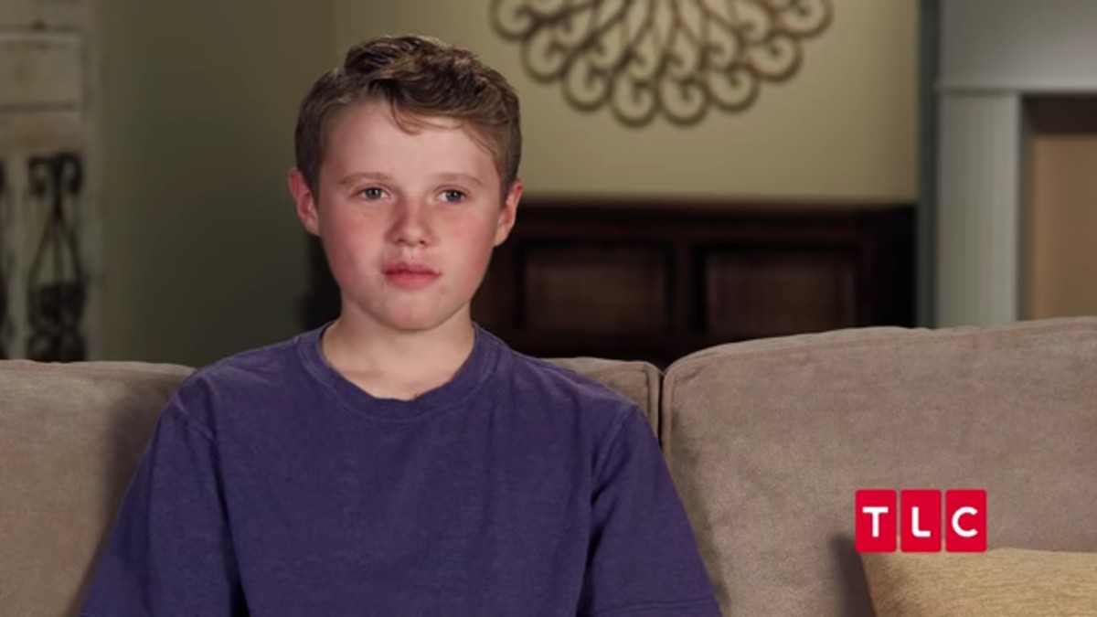 Jackson Duggar in a Counting On confessional.