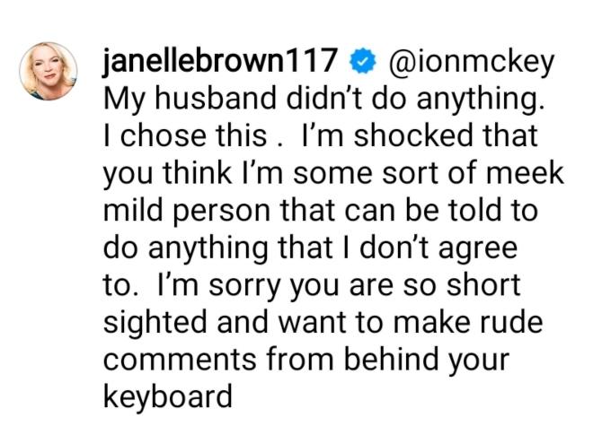Janelle Brown of Sister Wives on Instagram