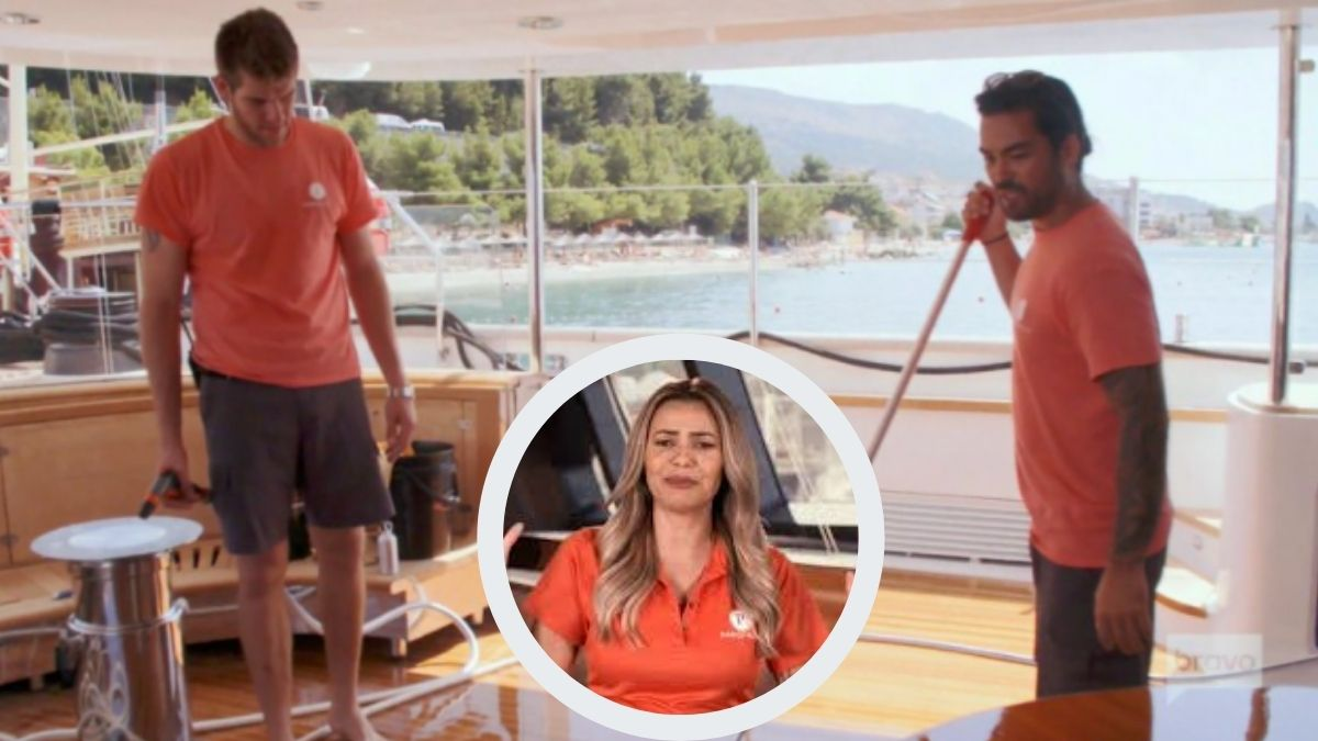 Colin Macrae from Below Deck Sailing Yacht trashes Jean-Luc Cerza-Lanaux over Dani Soares baby paternity test.