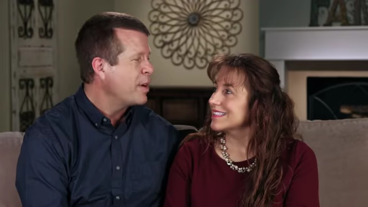 Jim Bob and Michelle Duggar in a confessional on Counting On.