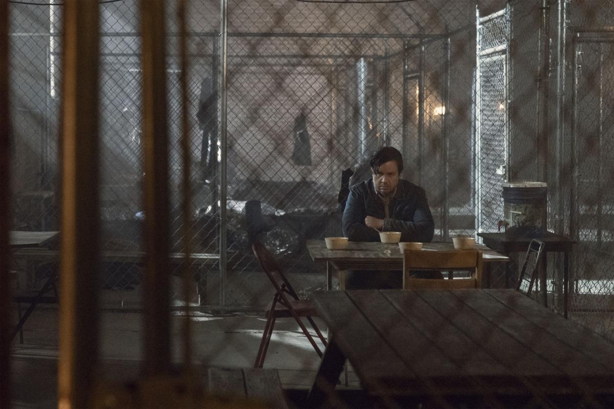 Josh McDermitt as Dr. Eugene Porter, as seen in Season 11 of The Walking Dead