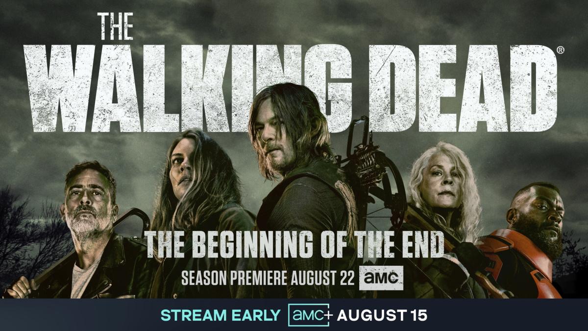 New key artwork for Season 11 of AMC's The Walking Dead