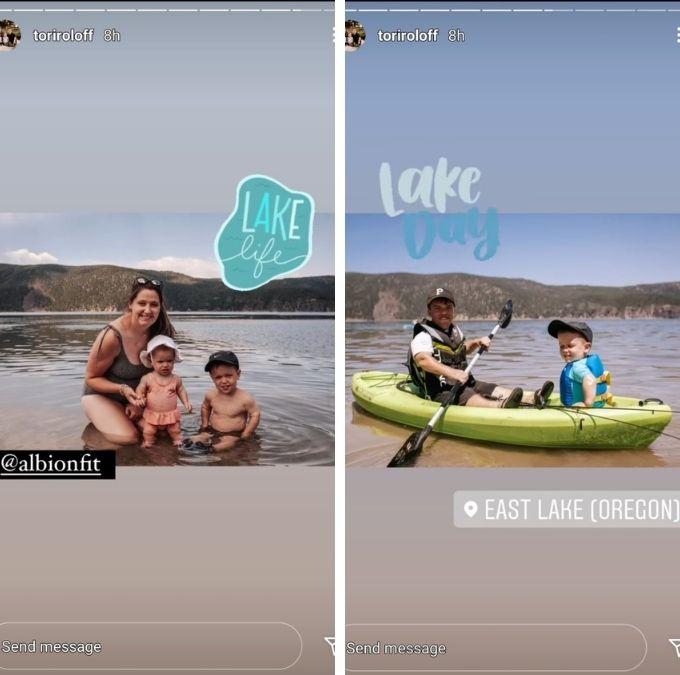 Tori Roloff of LPBW on Instagram