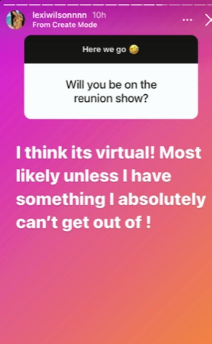 Lexi talks Below Deck Med reunion show