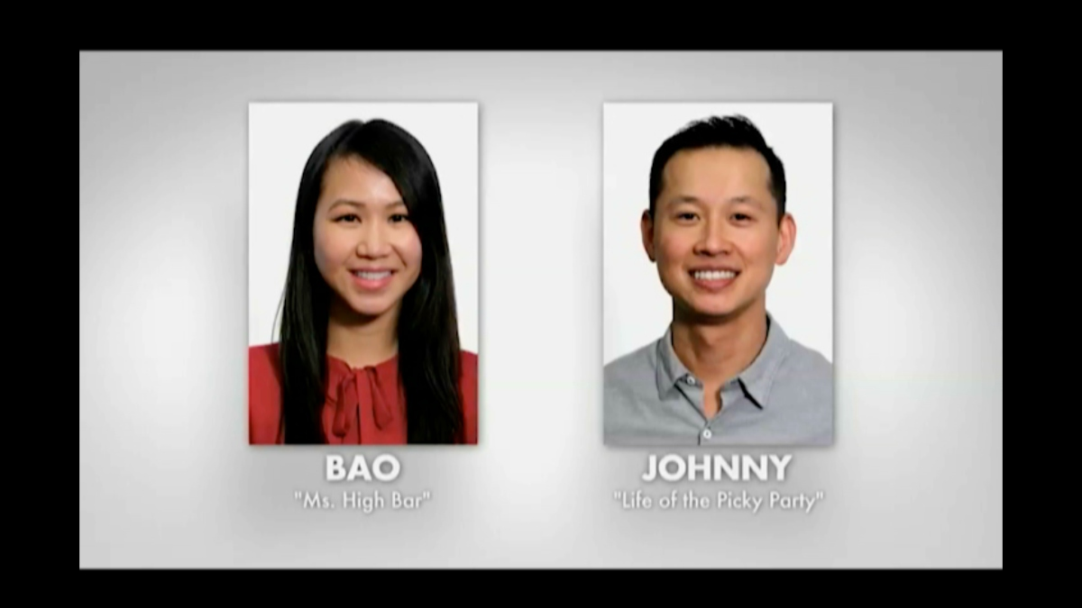 Bao and Johnny on Married at First Sight