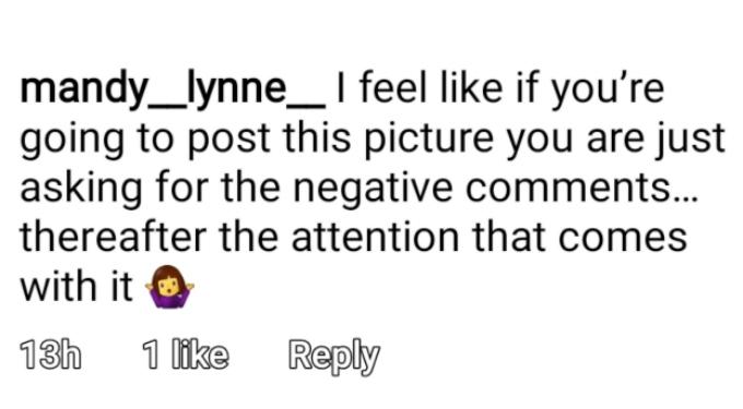 Mackenzie Edwards formerly of Teen Mom OG on Instagram