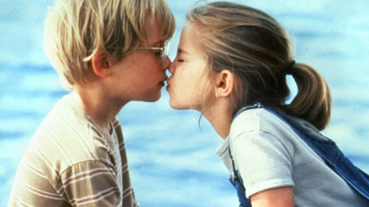 My Girl's first kiss