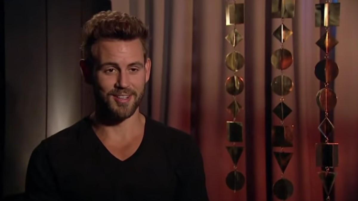 Nick Viall on The Bachelor.