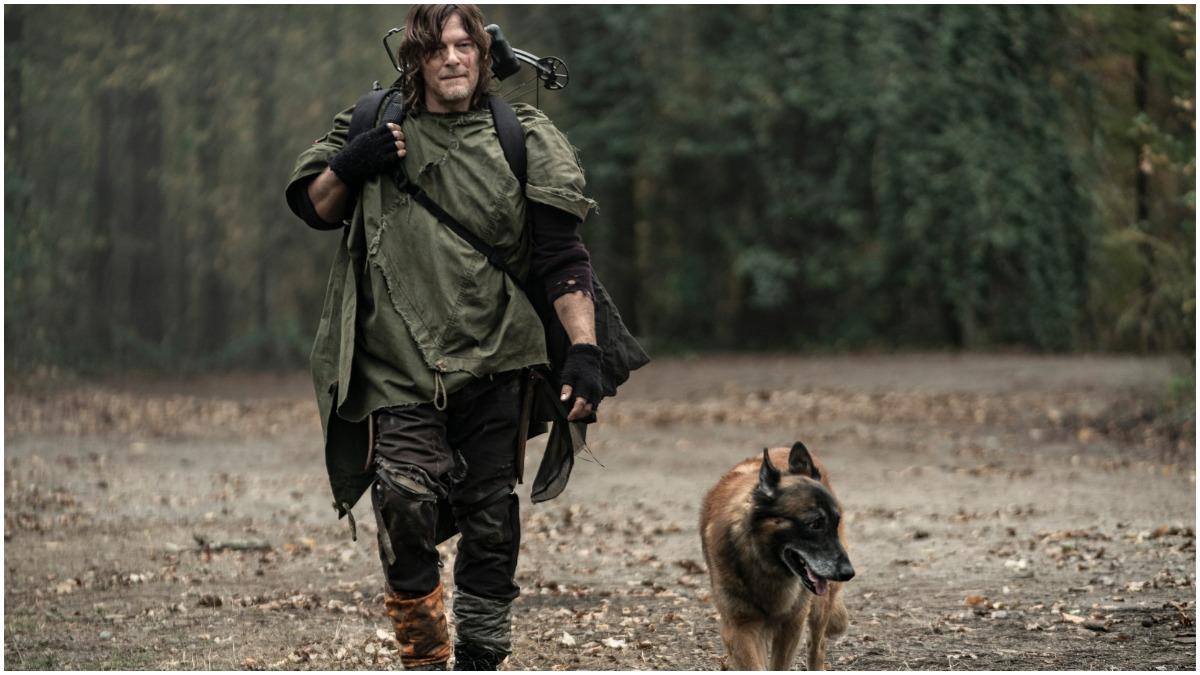 Norman Reedus stars as Daryl Dixon, as seen in Episode 18 of AMC's The Walking Dead Season 10