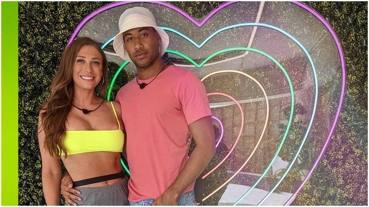 Olivia and Javonny on Love Island USA