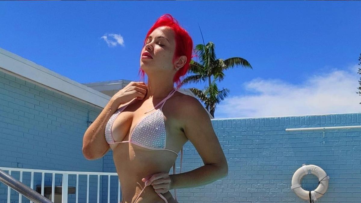 Paola is loving her bikini body.