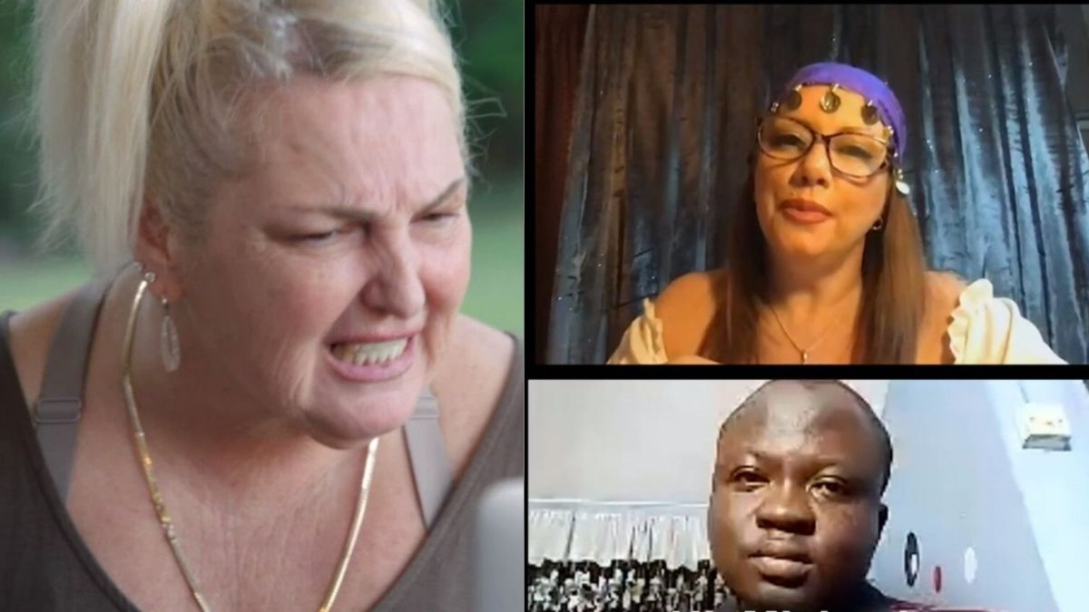 Psychic Tracey, Angela, and Michael