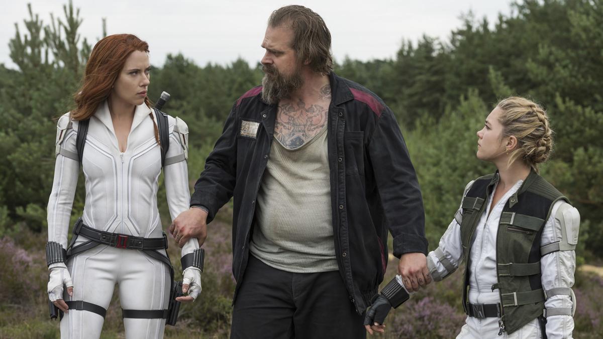 Red Guardian with Black Widow and Yelena Belova