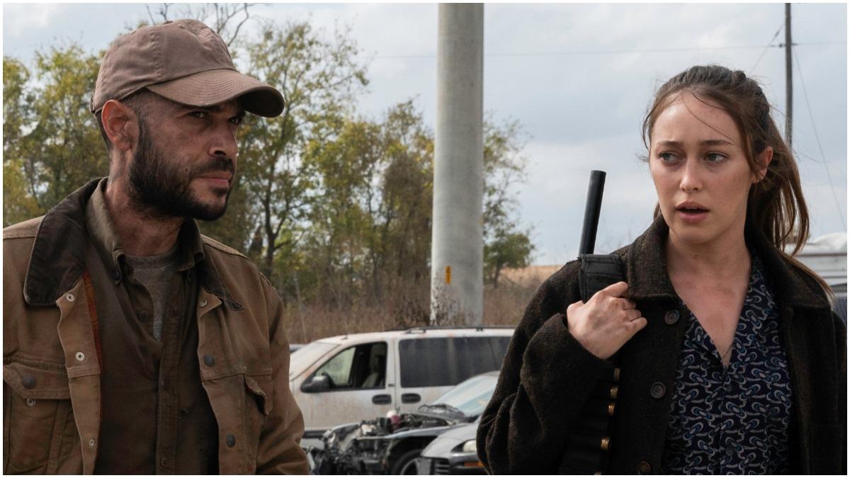 Sebastian Sozzi as Cole and Alycia Debnam Carey as Alicia, as seen in Episode 14 of AMC's Fear the Walking Dead Season 6