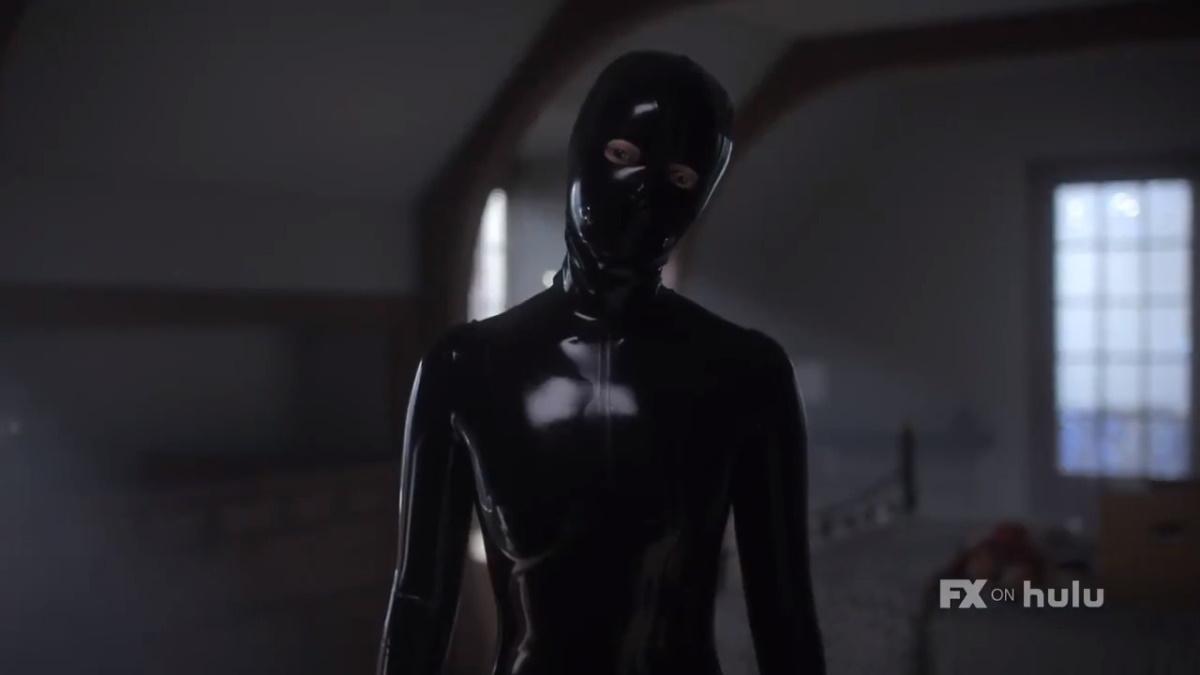 Sierra McCormick stars as Scarlett AKA the Rubber Woman, as seen in Episode 1 of FX's American Horror Stories