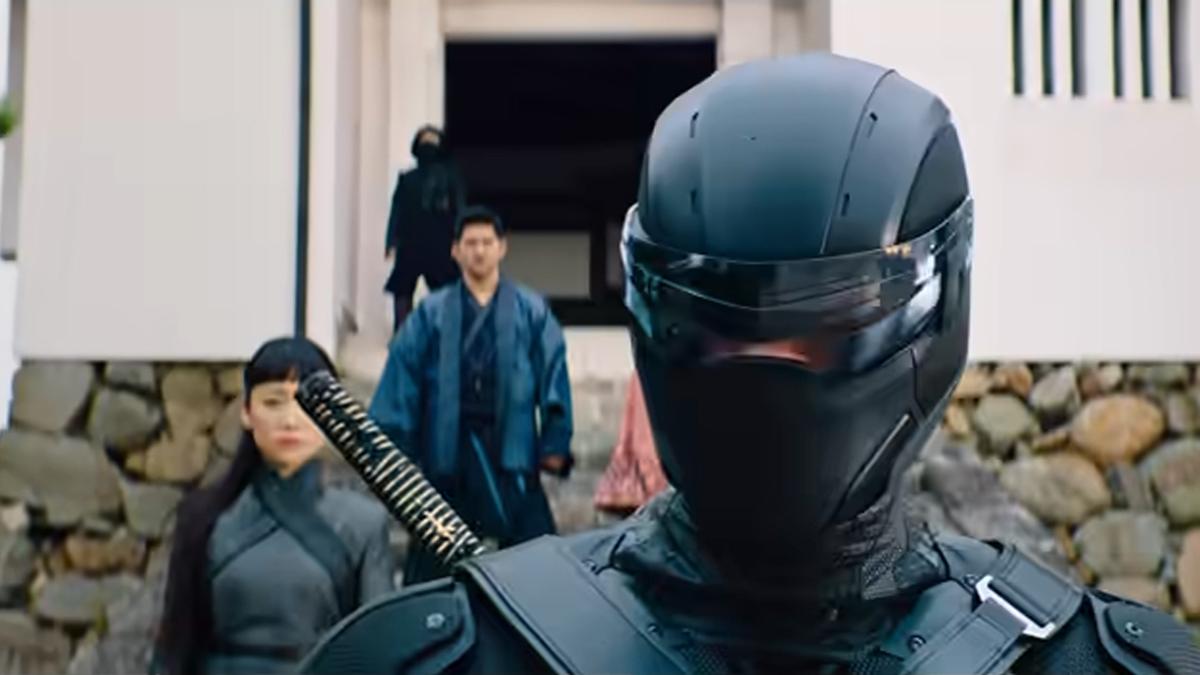 Snake Eyes GI Joe origin movie