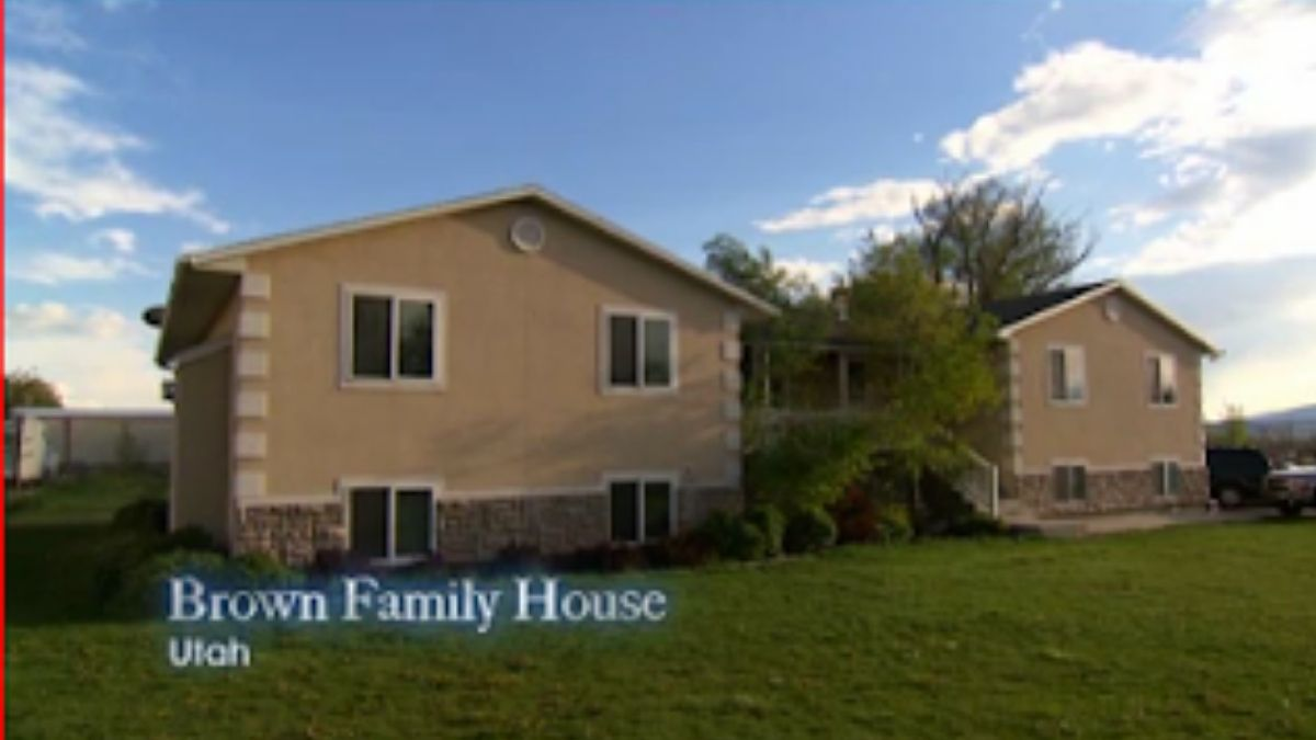 The Browns' home of Sister Wives on TLC