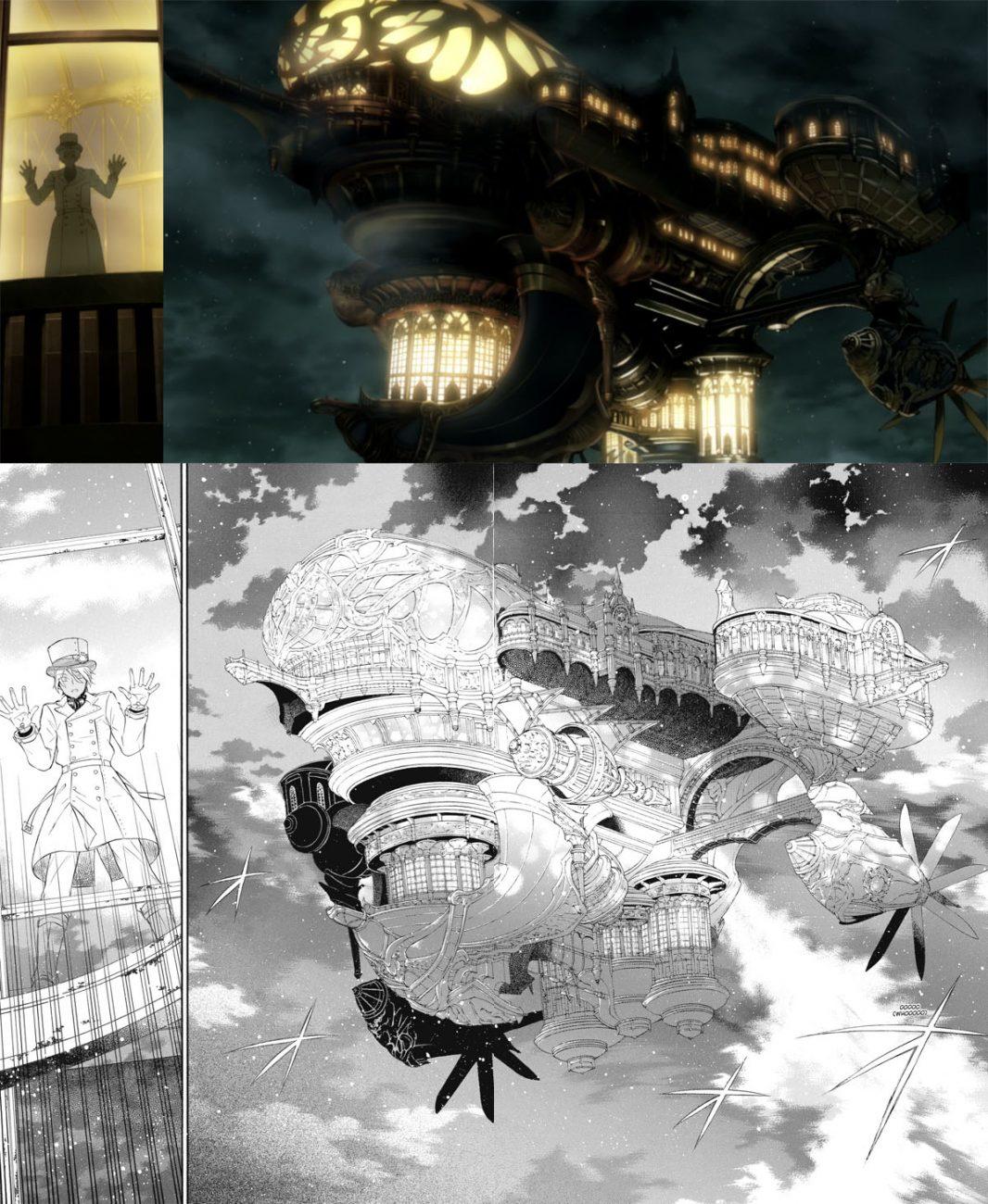 The Case Study of Vanitas Manga Anime Comparison