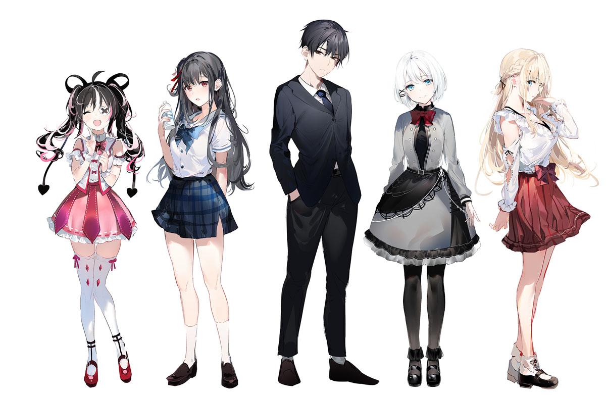 TanMoshi Characters