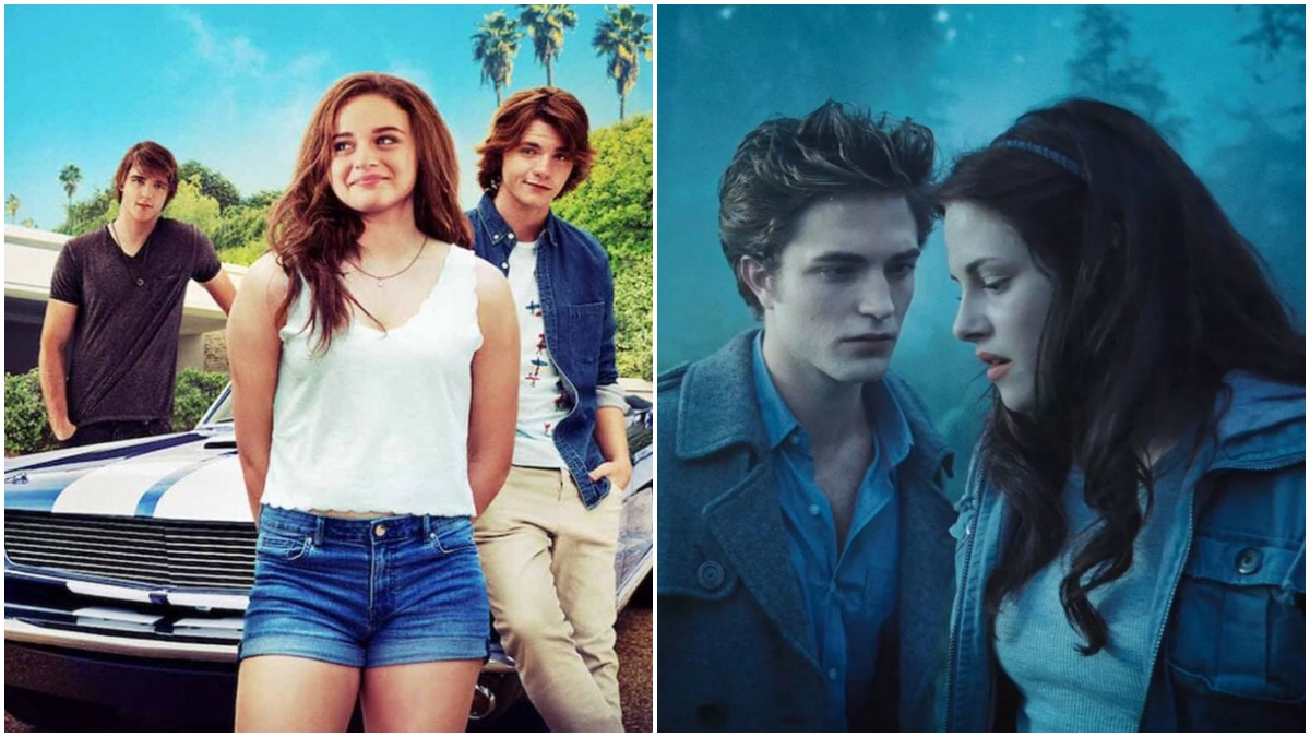 The Kissing Booth and Twilight on Netflix