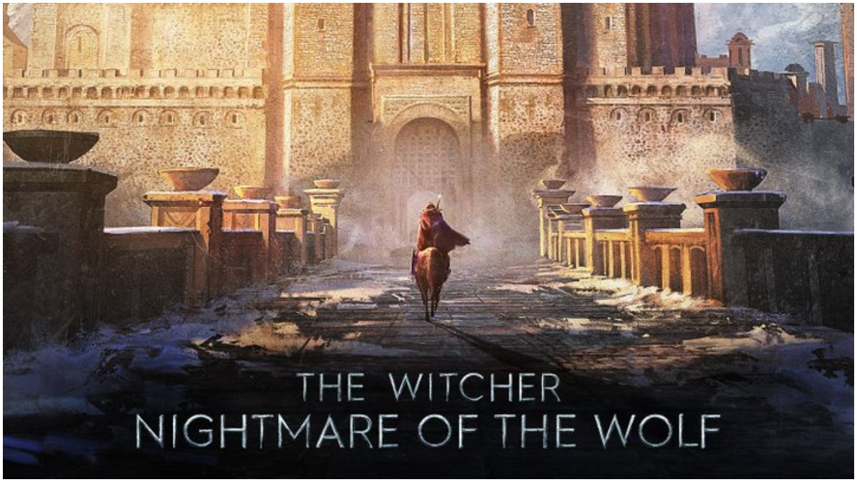Key artwork for the upcoming anime movie, The Witcher: Nightmare of the Wolf