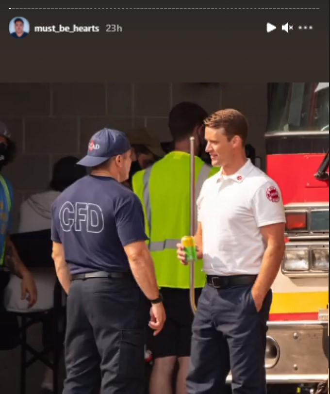 Tony And Casey Chicago Fire