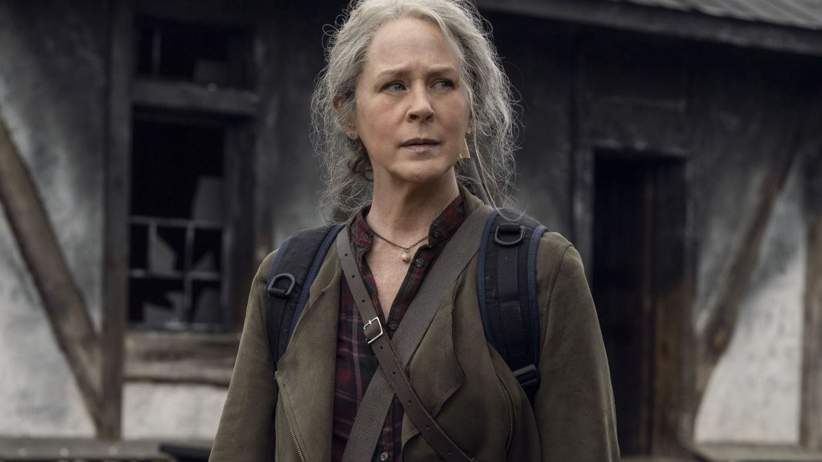 Melissa McBride stars as Carol Peletier, as seen in Season 11 of The Walking Dead