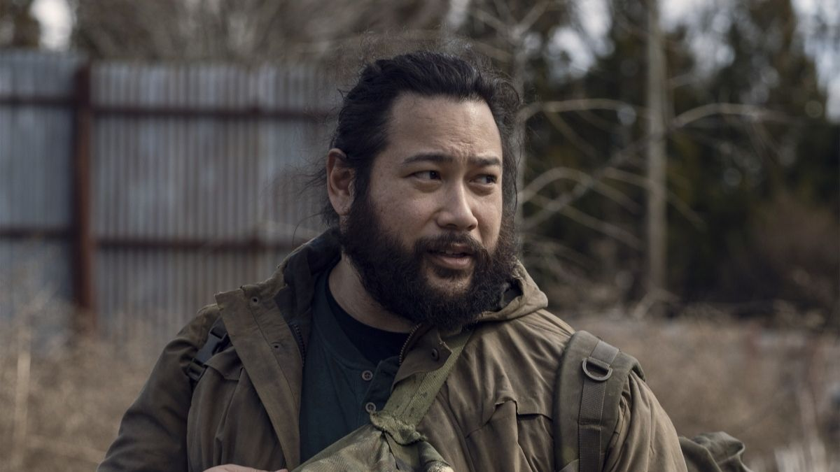 Cooper Andrews stars as Jerry, as seen in Season 11 of The Walking Dead