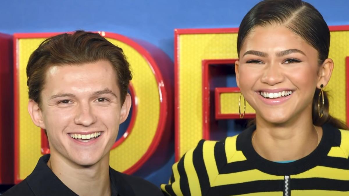 Zendaya and Tom Holland together