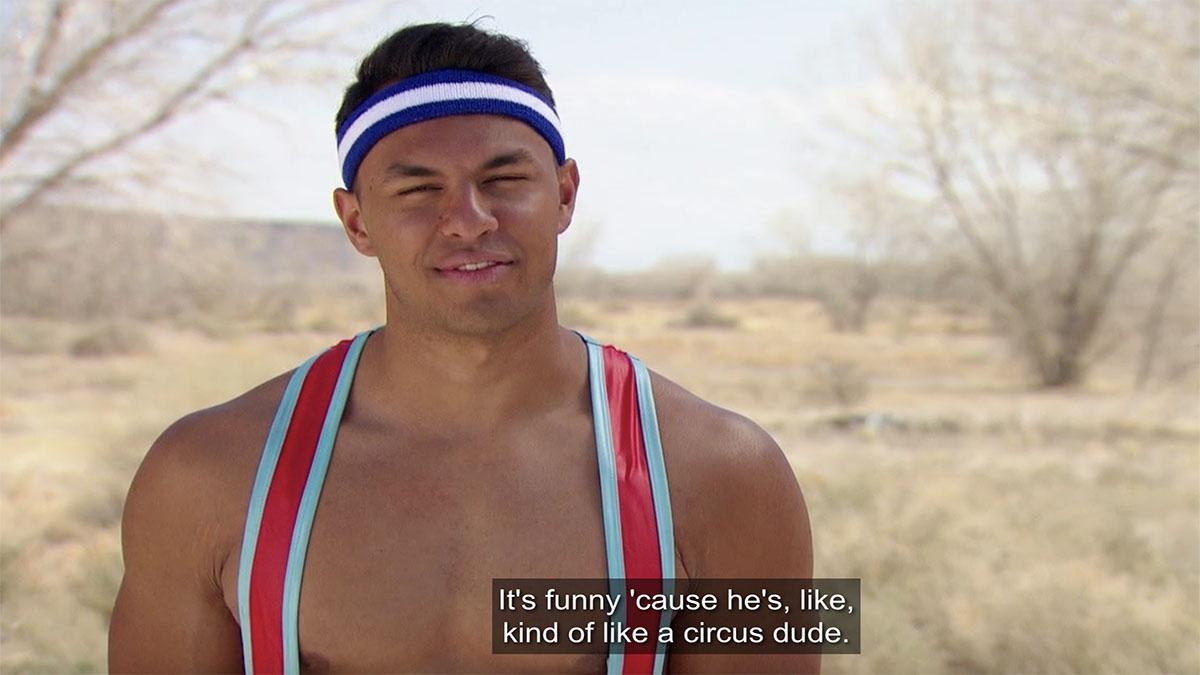 Aaron on The Bachelorette