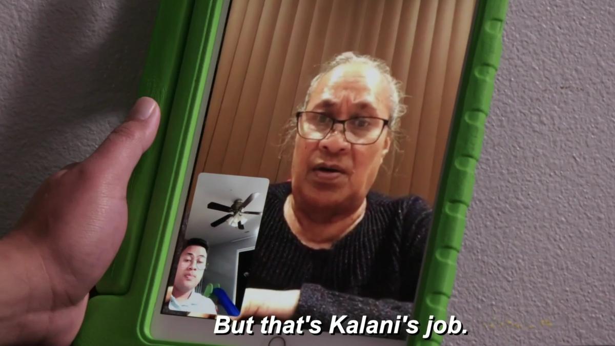 Lesina says Kalani needs to have kids.