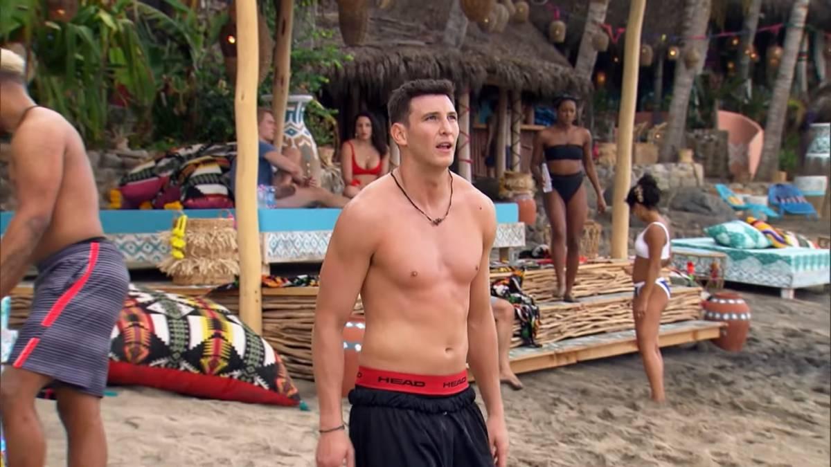 Blake Horstmann films for Bachelor in Paradise