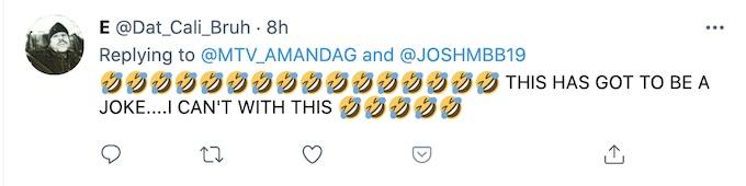 fan reacts to amanda garcia tweet about josh martinez boxing event