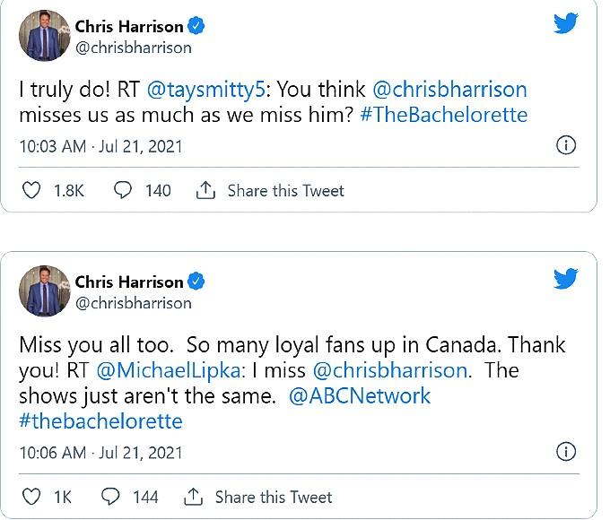 chris harrison tweets